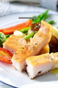 鱘龍魚肉1