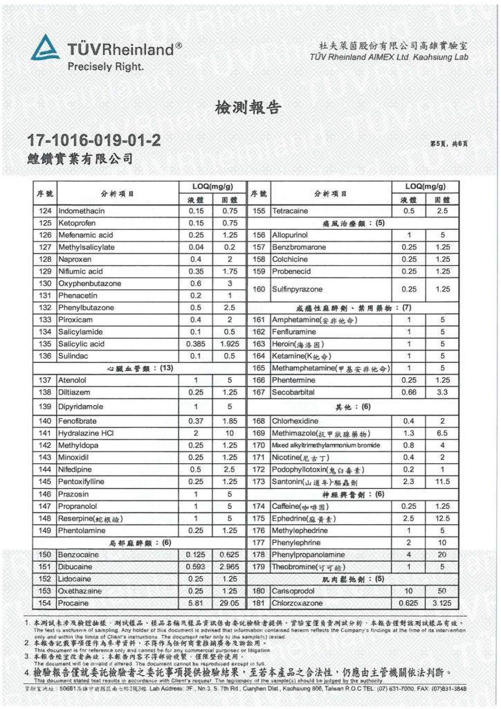 鱘寶家-鱘龍魚保健食品相關檢驗報告 10